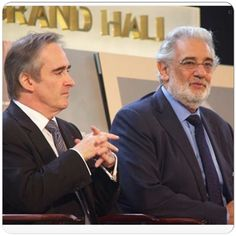 "CONTRAGULATIONS! Placido Domingo has renewed his contract as General Director through the end of the 2021/22 season! ""Music is my life, and my three-decade association with LA Opera has been one of the most rewarding aspects of my career,"" said Mr. Placido Domingo. In Photo with Placido, Maestro James Conlon La Opera"
