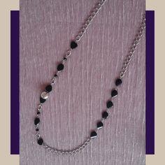 SOIE | Asesoría de Imagen | Collares | Colombia - Tienda Online | Black & Silver Black Silver, Chain, Collection, Jewelry, Templates, Wardrobe Capsule, Store, Colombia, Necklaces