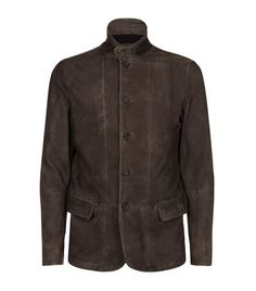 ALLSAINTS Emerson Leather Blazer. #allsaints #cloth #