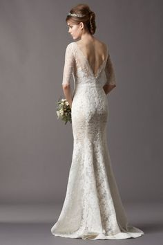 lace wedding dresses with sleeves under 500