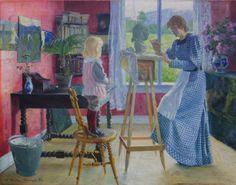 Niels Gustav Wentzel (Norwegian, 1859-1927) Fra Atelieret. 1883