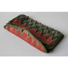 18th century flame stitch wallet - Google Search