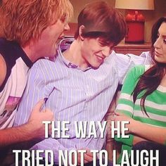He kept almost cracking up! I don't know how he didn't!!!! That skit was HILARIOUS!!!!