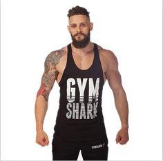 Homme Haute Qualité Gym Tank Top Stringer Bodybuilding Fitness Wear Sport Vêtements