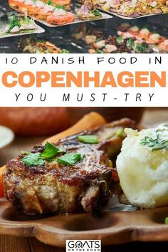 Enjoy our recommendations on 10 Danish foods you must-try to eat in Copenhagen! In Denmark, you will see how their culture and innovation come together to come up with an amazing culinary adventure. Danish Cuisine, Danish Food, Denmark Food, Denmark Travel, Danish Beer, Herbert Lom, Around The World Food, Norwegian Food, Unique Recipes