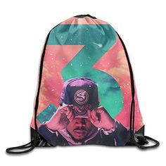 Chance The Rapper 3 Nylon Drawstring Bag Home Travel Sport Storage *** Find out more about the great product at the image link. (Note:Amazon affiliate link)