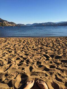 One last weekend at the beach! Skaha Lake, BC Photo: Julia Crawford