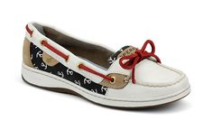 Sperry Top-Sider - Women's Angelfish Slip-On Boat Shoe Absolutely LOVE these! Stilettos, High Heels, Sperry Shoes, Shoes Sandals, Cute Shoes, Me Too Shoes, Uggs, Blazers, Usa Tumblr