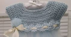 Crochet and Tulle Baby Dress    This crochet pattern / tutorial is available for free...     Full post: Crochet and Tulle Baby Dress   ...