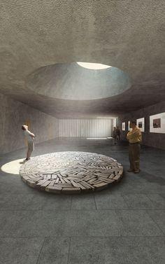 Pacheco . Mendes . Loureiro . Almeida . RESORT QUITUNDO . Luanda (4) Sacred Architecture, Light Architecture, Landscape Architecture, Interior Architecture, Interior Design, Minimalist Design, Modern Design, Meditation Space, Brutalist