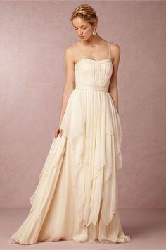 Cascada Gown from My wedding gown! Wedding Dresses Photos, Wedding Dress Sizes, Wedding Dresses Plus Size, Bridal Wedding Dresses, Unique Dresses, Dream Wedding Dresses, Dressy Dresses, Lovely Dresses, Making A Wedding Dress
