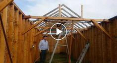 Vídeo Explicativo De Como Montar Telhado Termina Com Hilariante Queda