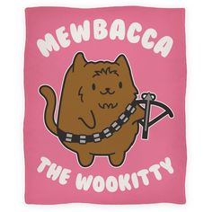 Mewbacca the Wookitty Blanket   Blankets, Fleece Blankets and Throws   HUMAN