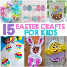 Easter is only two weeks away, so it's time to get started on those Easter crafts! So, today I'm sharing some of our favorite Easter Crafts For Kids. From the little ones to even bigger kids there's a craft project for kids of all ages! 15 Easter Crafts for Kids Click on the links below …