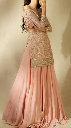 Colors & Crafts Boutique™ offers unique apparel and jewelry to women who value versatility, style and comfort. For inquiries: Call/Text/Whatsapp Pakistani Bridal Dresses, Pakistani Dress Design, Nikkah Dress, Pakistani Outfits, Indian Outfits, Eid Dresses, Dress Indian Style, Indian Fashion Dresses, Indian Designer Outfits