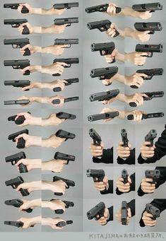 Draw Hand Holding Gun