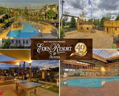 $106 for Overnight Stay at Eden Resort in Lancaster + $25 Food Credit + KIDS EAT FREE!! (47% off)