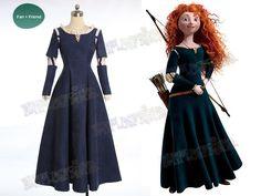 Brave (Disney film) Cosplay Princess Merida Costume Outfit | Possible Halloween costume!