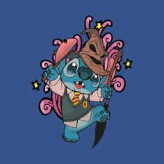 Check out this awesome 'Stich+Potter' design on Lelo And Stitch, Stitch Drawing, Harry Potter Merchandise, Harry Potter Magic, Cartoon Crossovers, Disney Fan Art, Ohana, Cute Wallpapers, Painted Rocks