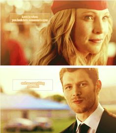 Klaroline... Everything they need is in the other