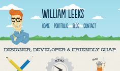 Site I designed and developed to promote my design services.