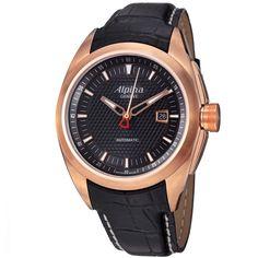 Alpina Men's AL-525B4RC4 'Club' Rose Goldtone Strap Automatic Watch