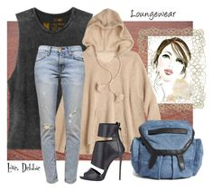 """""""Loungewear"""" by debbie-michailides ❤ liked on Polyvore"""