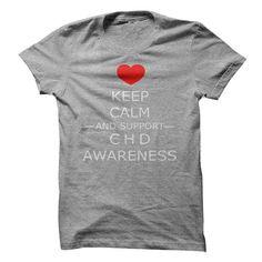 Congenital Heart Defect Awareness Tee