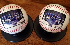 These are my favorite baseballs so far this year done by Get on the Ball Photos.  Love the picture!