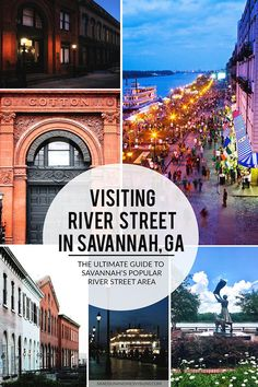 Everything You Could Ever Possibly Need To Know About Visiting River Street In Savannah Ga