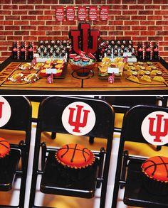 Slam Dunk Indiana Basketball Party