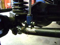 Lower link arm & shock mountfor 3-link build