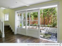 15 French Doors for Inspiration  -  Possible for doorway from man cave to pool area on ground floor
