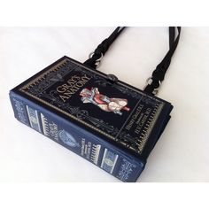 Grays Anatomy Book Purse - Medical Field Book Purse - Medical Student... ($58) ❤ liked on Polyvore featuring bags, handbags, antique purses, long hand bags, long purse, pocket purse and gray purse