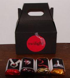 twilight party favors..chocolates