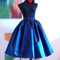 Pleated Swing Skirt? Yes please.