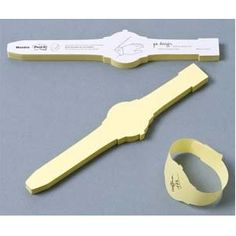 Sticky Note Wrist Watch - much more professional than writing on your hand...