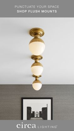 We make lighting your home quick and easy with designer flush mounts. Order now!