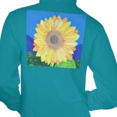 The Sunflower by Julia Hanna Hoodie