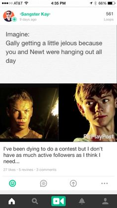 And Newt's just like 'Deal Gally.'