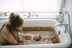 Healing Postpartum Herb Baths are create such a rich bonding experience. https://www.birthsongbotanicals.com/products/postpartum-herb-bath
