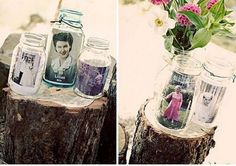 bloved-uk-wedding-blog-its-all-in-the-details-10-ways-with-mason-jars-photo-holders.  This is a great idea!