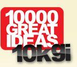 10000 Great Ideas logo