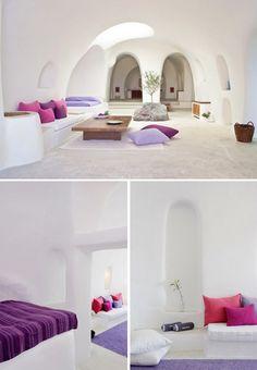 Santorini, Greece Cave Architecture