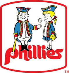 Old Philadelphia Phillies' logo.
