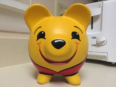 Winnie the Pooh Hand Painted Ceramic Piggy Bank Medium Winnie Poo, Winnie The Pooh, Pottery Painting, Ceramic Painting, Paper Mache Projects, Personalized Piggy Bank, Martha Stewart Crafts, Little Kitty, Cute Pigs