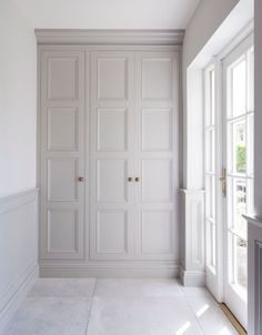 Buy Victorian style Wardrobe Doors from Just Wardrobe Doors. We specialise in bespoke fitted wardrobes doors made on site to fit your room. Garderobe Design, Custom Wood Furniture, Furniture Plans, Kids Furniture, Build A Closet, The Doors, Front Doors, Entry Doors, Front Entry