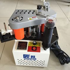 JBT102B Woodworking Double Sided Gluing Portable Edge Bander PVC Portable Edge Banding Machine