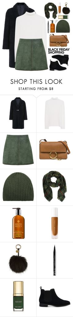 """Black Friday"" by mylkbar ❤ liked on Polyvore featuring CITYSHOP, Victoria, Victoria Beckham, George J. Love, Chloé, MANGO, Molton Brown, Holland Cooper, NYX, Dolce&Gabbana and TOMS"