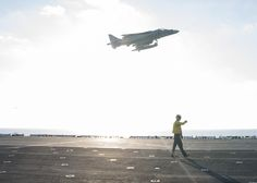 MEDITERRANEAN SEA (Aug. 20, 2016) An AV-8B Harrier, from the 22nd Marine…